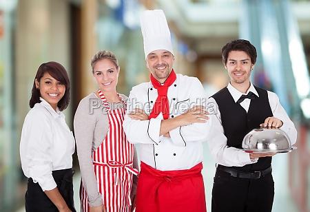 restaurante camarera superior camarero mayordomo portera