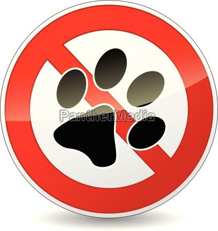 vector sin signo de mascotas