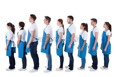 mujer esperar espera azul personas gente