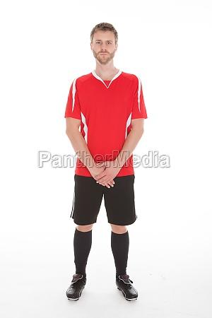 retrato del hombre en ropa deportiva