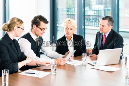 negocios reunion o reunion en