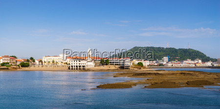 ciudad de panama vista antiguo casco