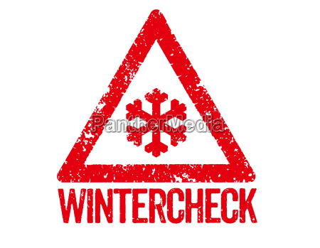 red stamp winter check