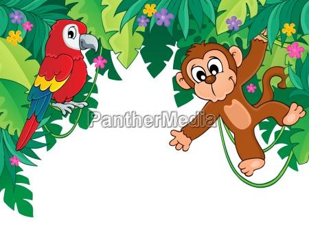 imagen con tema selva 5