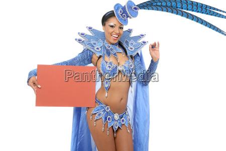 bailarina, brasileña, de, sambat - 12650408