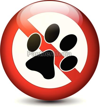 no hay mascotas signo