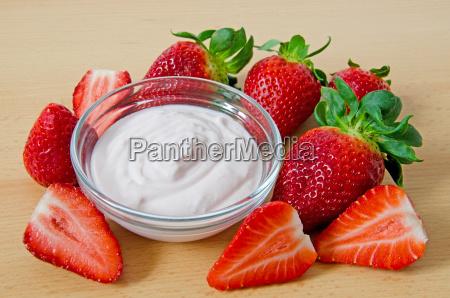 comida con sabor a fruta fresa