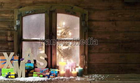saludos acuerdo fiesta invierno ventana cartas