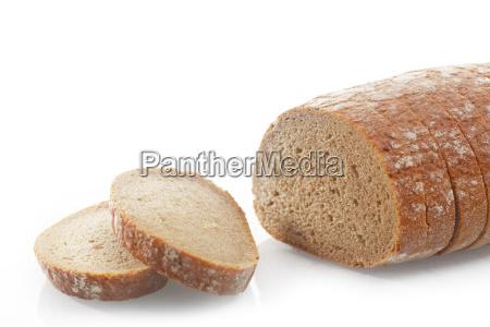 rodajas de pan salado en el