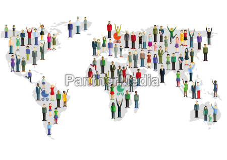 group of people who form a