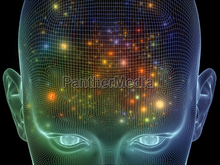 visualizacion composicion disenyo hombre simetria ilustracion