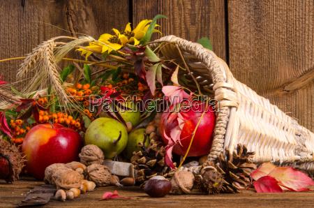 cuerno con verduras