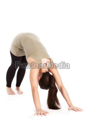 sun hollin posa en yoga adho