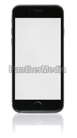 telefono nuevo con pantalla en blanco