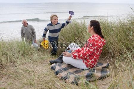 risilla sonrisas fiesta vacaciones invierno playa