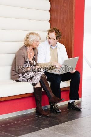 medico hablar hablando habla charla portatil