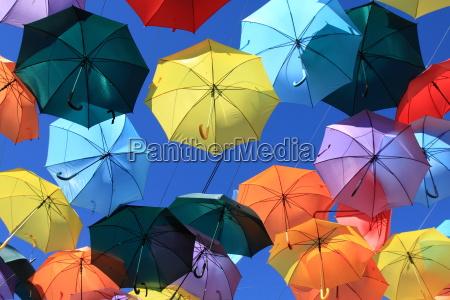 paseo viaje arte color espanya paraguas