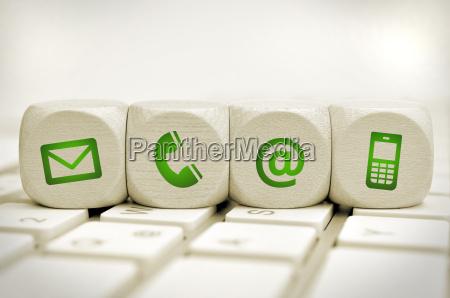 correo enviar sitio web icono informacion