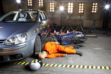 color industria de investigacion trafico coche