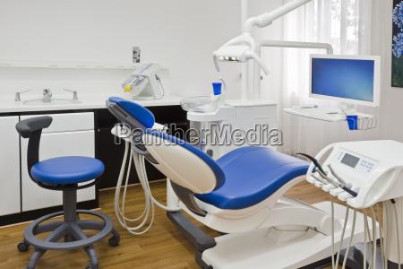 salas de tratamiento en un consultorio