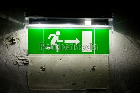 senyal desaparecer verde negro senyales bombilla