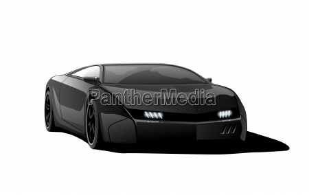 race car final black blank
