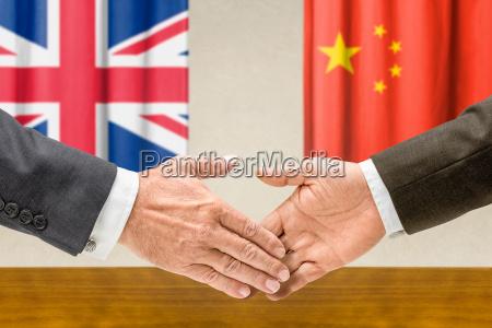 representatives of the uk and china