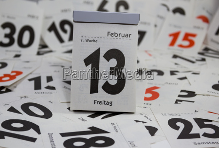 abreisskalender friday the 13th
