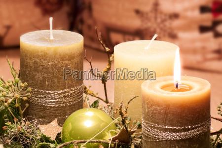 vela advenimiento atmosferico decoracion contemplativo luz