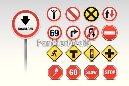 trafico y otras senyales
