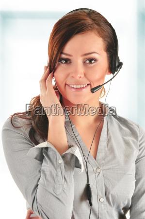 operador de call center asistencia al