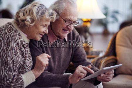 redes de pareja senior