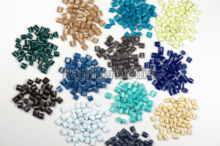 granulos de plastico