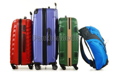 paseo viaje transporte caso maletas bolsa