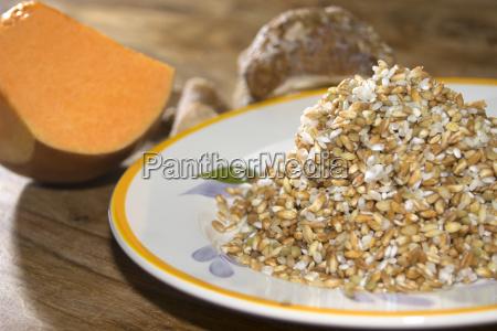 sopa de cereales