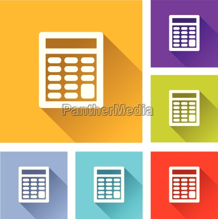 calculator icons