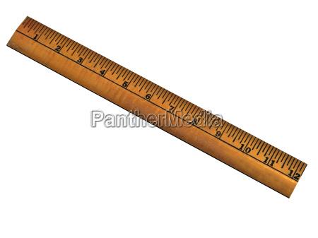 regla exentos de madera
