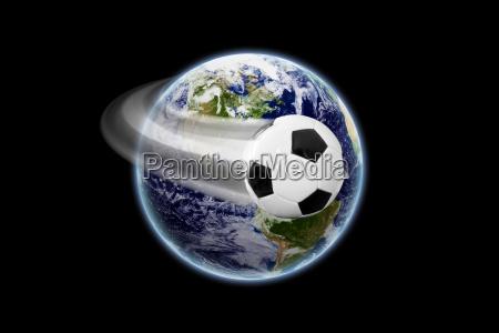 futbol mundial textura de la
