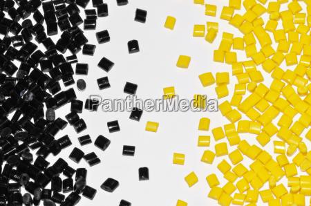 color negro resina de plastico colorante