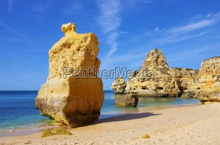 playa del algarve marinha algarve beach