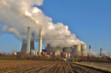 medio ambiente tecnologia central electrica poder