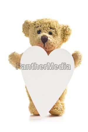 objeto solitario liberado animal oso marron