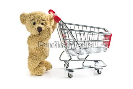 solitario liberado rueda animal oso marron