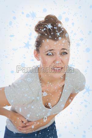 imagen compuesta de una mujer joven