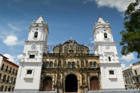 catedral de panama ciudad centroamerica en