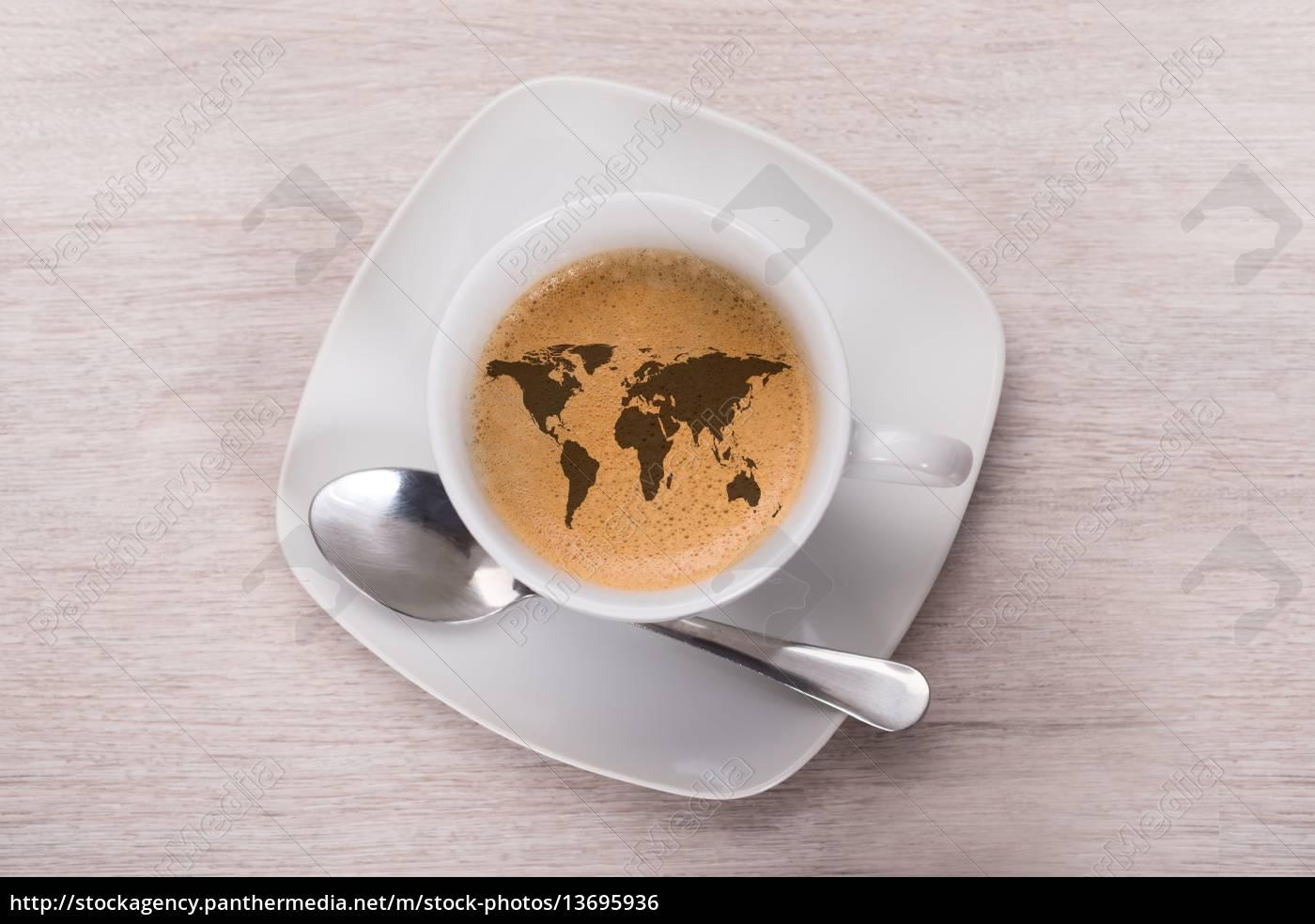 café, de, mapa, del, mundo - 13695936