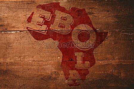 peligro madera africa roble digital letal