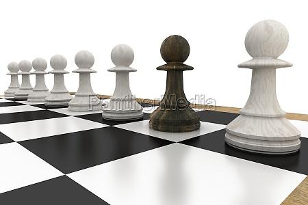 estrategia ocio juego juega negro ilustracion