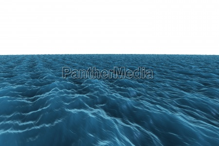 grafico generado digitalmente oceano azul aspero