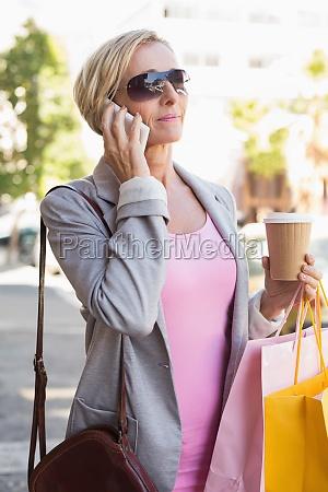 mujer telefono te movil ocio estilo